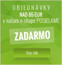 Objednávky nad 65 eur posielame zdarma