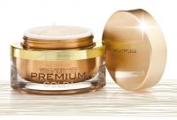 Nočný krém na vrásky exkluziv Premium Gold s 24Kt zlatom 50ml