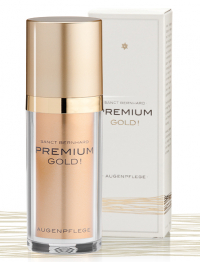 Krém na očné vrásky exkluzív Premium Gold! 30ml