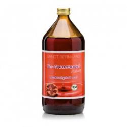 Šťava z granátového jablka 100%, 1000 ml BIO